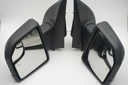 Ford 15-18 F150 Oem Power/heated/signal Driver/passenger Side Mirrors