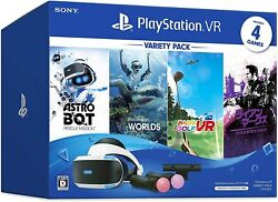 New .co.jp Limited Playstation Vr Variety Pack Sony Ps4 Game