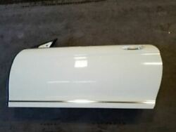 07 08 09 10 11 12 13 14 Mercedes Cl550 W216 White-650 Driver Door Shell 18895