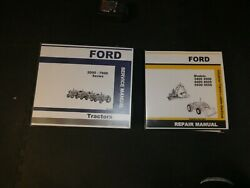 Ford 2000-7000 Series Tractor Service Repair Manual And Industrial Loader Backhoe