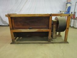 Antique Sprout Waldron And Co. Muncy Pa Corn / Grain / Grist Mill Bolter Table