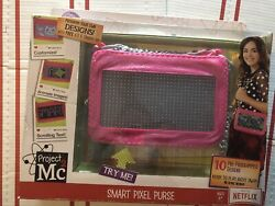 Project Mc2 Pixel Light Toy Purse, New With Retail Box