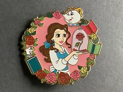 Belle Mrs Potts Chip Bell Glass Beauty And Beast Le 50 - Fantasy Disney Pin 0