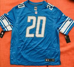 New 2020 Nfl Nike Detroit Lions Barry Sanders Game Retired Player Ed. Jersey Xxl