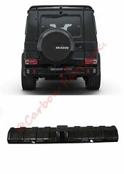 W463 Carbon Diffuser On Rear Bumper Brabus Style Mercedes-benz G-class G63 G65