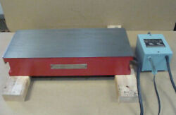 Magna-lock Corp Magnetic Chuck 20 X 8 Table Electro Magnet Type