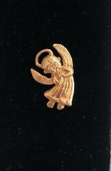 Wow__solid 14k Yellow Gold Angel Charm Pendant- See Gold Coins, Jewelry