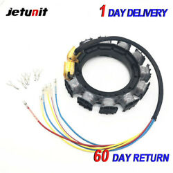 Outboard Stator For Mercury 398-818535a17/a18 1987-199745-50-55-95hp-3cyl16amp