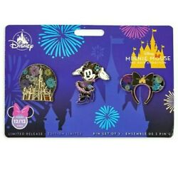 New Minnie Mouse Main Attraction Castle Finale December Pins In Hand