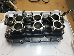 1992 Evinrude Johnson Xp 150hp V6 Outboard Motor Intake Manifold With Reeds