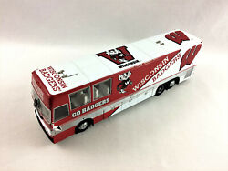 Danbury Mint Wisconsin Badgers Team Bus, Rare - New In Box, Free Shipping -