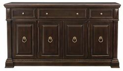 Bernhardt Pacific Canyon Traditional Buffet/sideboard Free In Home Ship Most Usa