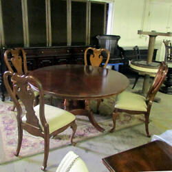 Thomasville Irving Park/river Roads 7 Pc Dining Set Table/chair Free S/h Most Us