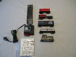 Model Power New Haven 4 Car Freight Train Set. H.o. Scale. Brand New Set.