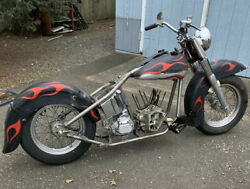 Harley Rigid Project Bike New Frame With Mso