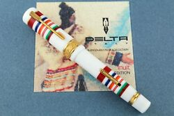 Delta Indigenous Peoples And039inuitand039 Limited Edition Fountain Pen - Vermeil