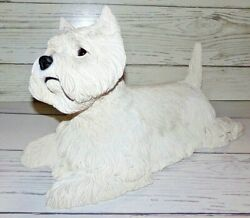 Westie West Highland White Terrier Life-size -like Statue Figurine K-9 Creations