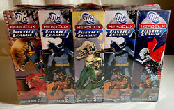Heroclix Miniatures Dc Justice League Sealed Brick Of 10 Boosters