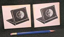 1972 Jamaica 10th Independence Anniversary Gold Coins Presentation Case Lot Of 2