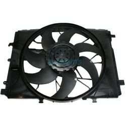 New Radiator Fan Assembly Fits 2008-15 Mercedes-benz C350 Mb3115122 2049066802