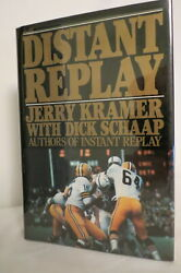 Jerry Kramer Distant Replay 1985 First Edition 3rd Printing