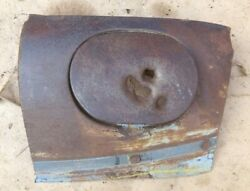 1941 1948 Ford Gas Tank Filler Hole Surround W/ Lid Original Cut Out For Custom