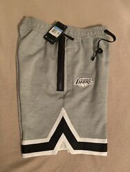 Nike La Lakers Authentic Nba On Court Therma Flex Practice Shorts Cq7454 063 Med