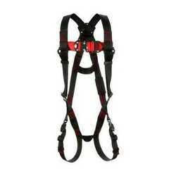 3m Protecta 1161200 Positioning Harness, Vest Style, S, Polyester, Black