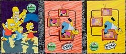 The Simpsons Anniversary Celebration Trading Card Set 81 W/ T1, Box, Wrappers