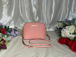 Michael Kors Cindy Large Dome Crossbody Pale Pink. New with Tags. $153.00