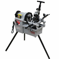 New Pipe Threading Machine 1/2 - 2 Two Speed Shifing Threader 1.7hp
