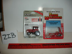 1/64 Case Ih 7120 Tractor And Forage Harvester - In Original Packages