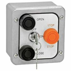 American Garage Door Supply 3bxl Control Station3 Buttonswith Lockout