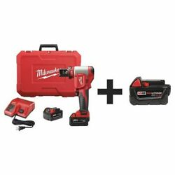 Milwaukee 2676-20, 48-11-1840 Cordless Knockout Tool Kit,carrying Case