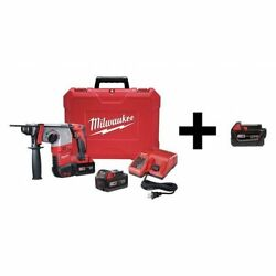 Milwaukee 2605-22 / 48-11-1840 Rotary Hammer With Add Battery 18v