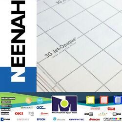 3g Jet Opaque Neenah Inkjet Heat Transfer Paper 11andrdquox17andrdquo 50 Sheets Free Delivery