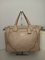 coach leather bags beige color $45.00