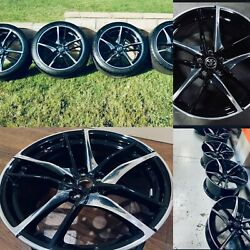 Factory Toyota Supra 21 Rims And Tires Fits All New Generation Supras 2k Miles