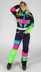 New Shinesty Oosc One Piece Ski Suit Snowsuit Steep And Deep Women Small Sold Out