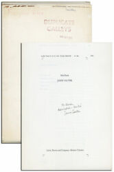 James Salter-solo Faces-1st Ed-publisherand039s Long Galleys-inscribed-custom Case