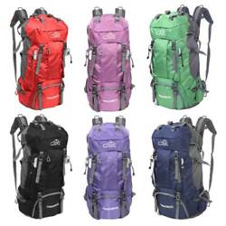60L Outdoor Camping Travel Rucksack Mountaineering Backpack Hiking Day Packs New $26.96