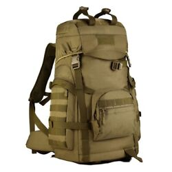 Men Tactical Backpack Military Bag Rucksack Climbing Mountaineering Sport Molle