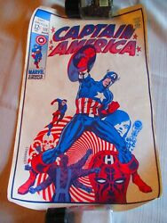 Captain America Poster Of Comic Book Cover 111, 12 X 19, Marvel