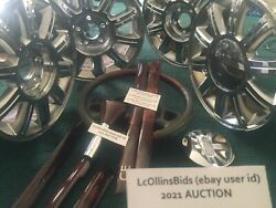 2002 Lincoln Continental Collectorand039s Edition Chrome Wheels Wood Steering Shift