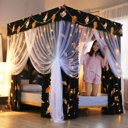 Bed Curtain Home Bedroom Elegant Mosquito Net Canopy Tent Sunshade Curtains Nets