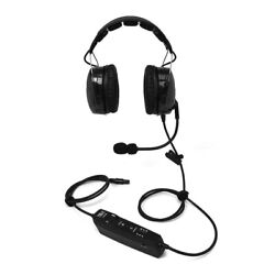 Tely Ace Anr Headset - Lemo 6 Pin Plug With Adapters