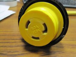 Marinco Marine Electrical Shore Power Pigtail Adapter Yellow