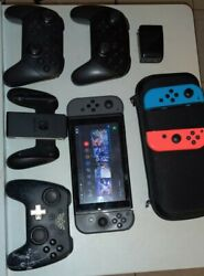 Nintendo Switch + Accessories + Games On Account Read Description