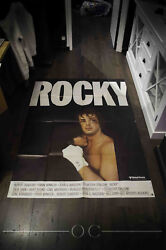 Rocky Sylvester Stallone 4x6 Ft Vintage French Grande Movie Poster Rereleas 1977