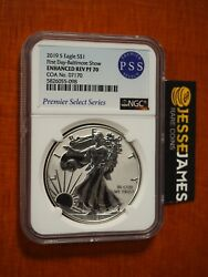 2019 S Enhanced Reverse Proof Silver Eagle Ngc Pf70 First Day Of Issue Baltimore